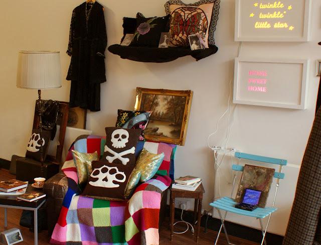 skull, knuckleduster, vintage, antique, clerkenwell road, Julie Landau, Gabrielle Levene, art, pop-up shop, London