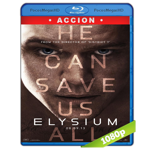 Elysium (2013) Full HD BRRip 1080p Audio Dual Latino/Ingles 5.1 (peliculas hd )