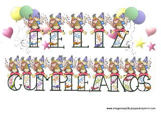 Feliz cumpleaños para imprimir