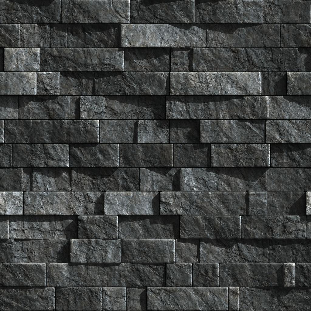 Dark Slate Tile : Black slate tile exterior