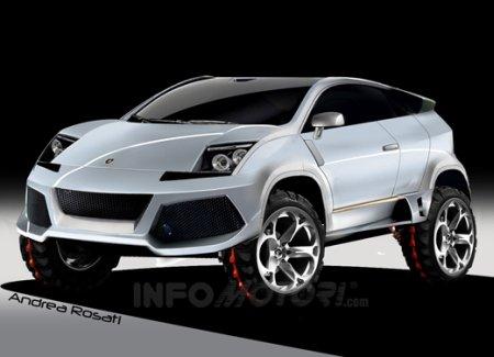 Lamborghini on Lamborghini Suv
