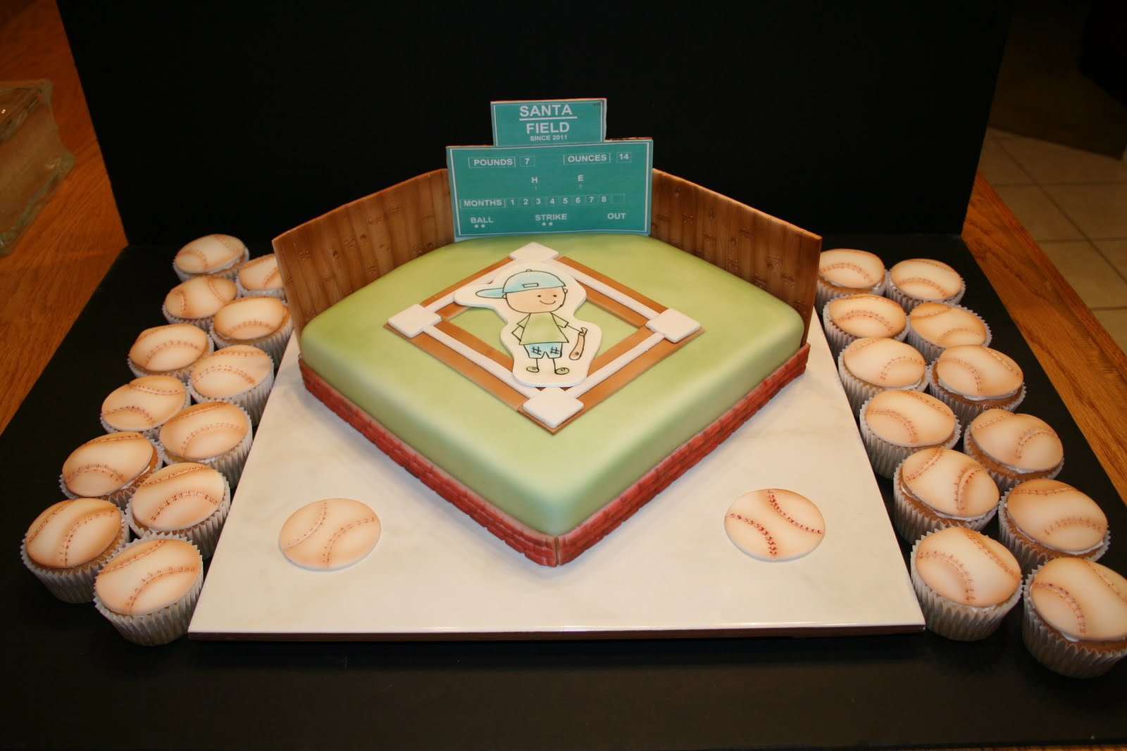 Sherrys Kneadful Delights Baby Shower Cakes