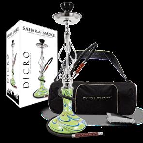 Sahara Smoke 'Dicro' Hookah Green