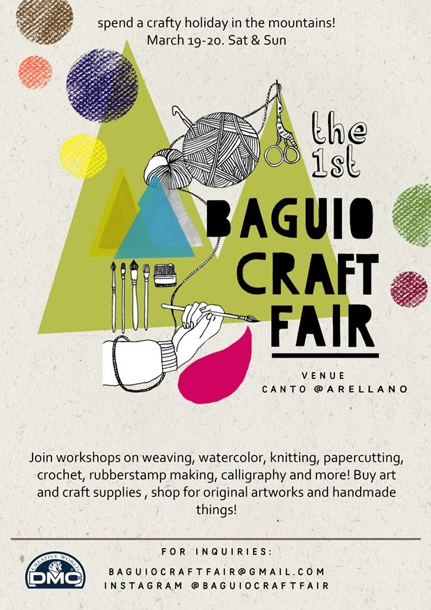 Workshop @ Baguio Craft Fair