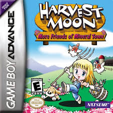 Free Download Buku Resep makanan HARVEST MOON More Friend In Mineral Town GBA Girl/BOY Version Lengkap