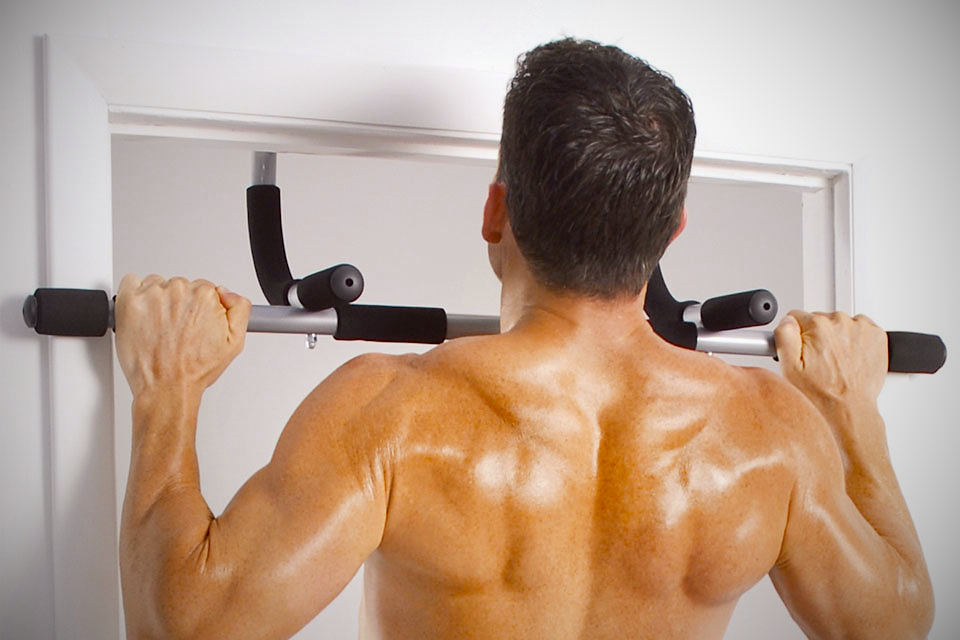 Iron gym total upper body workout bar iron gym total upper body