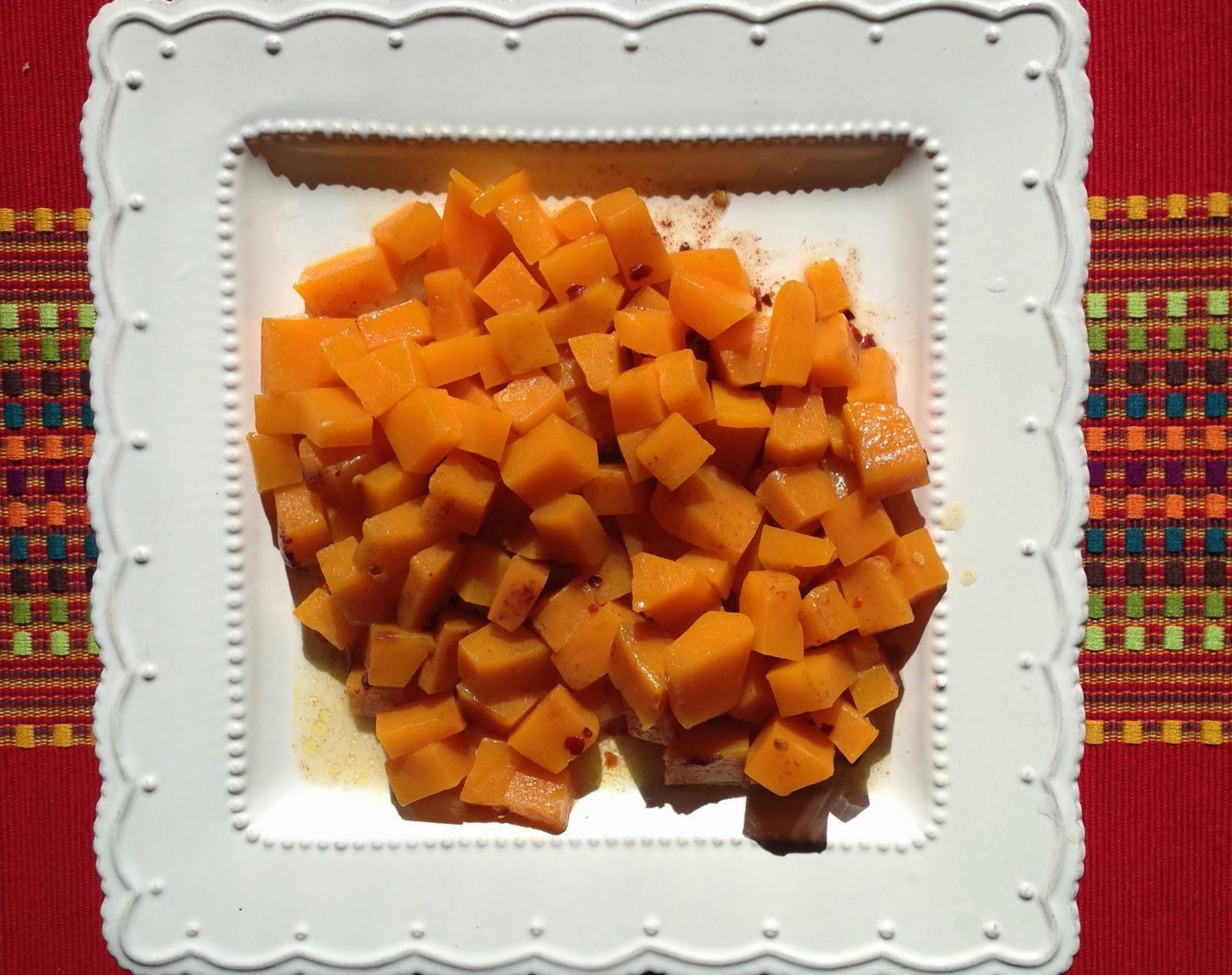 sous vide vegetarian recipe butternut squash