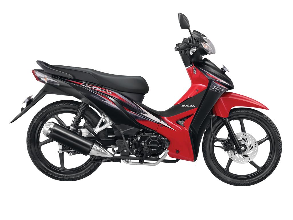 Kredit Motor Murah Dealer Honda Jakarta - Absolute Revo CW - Merah