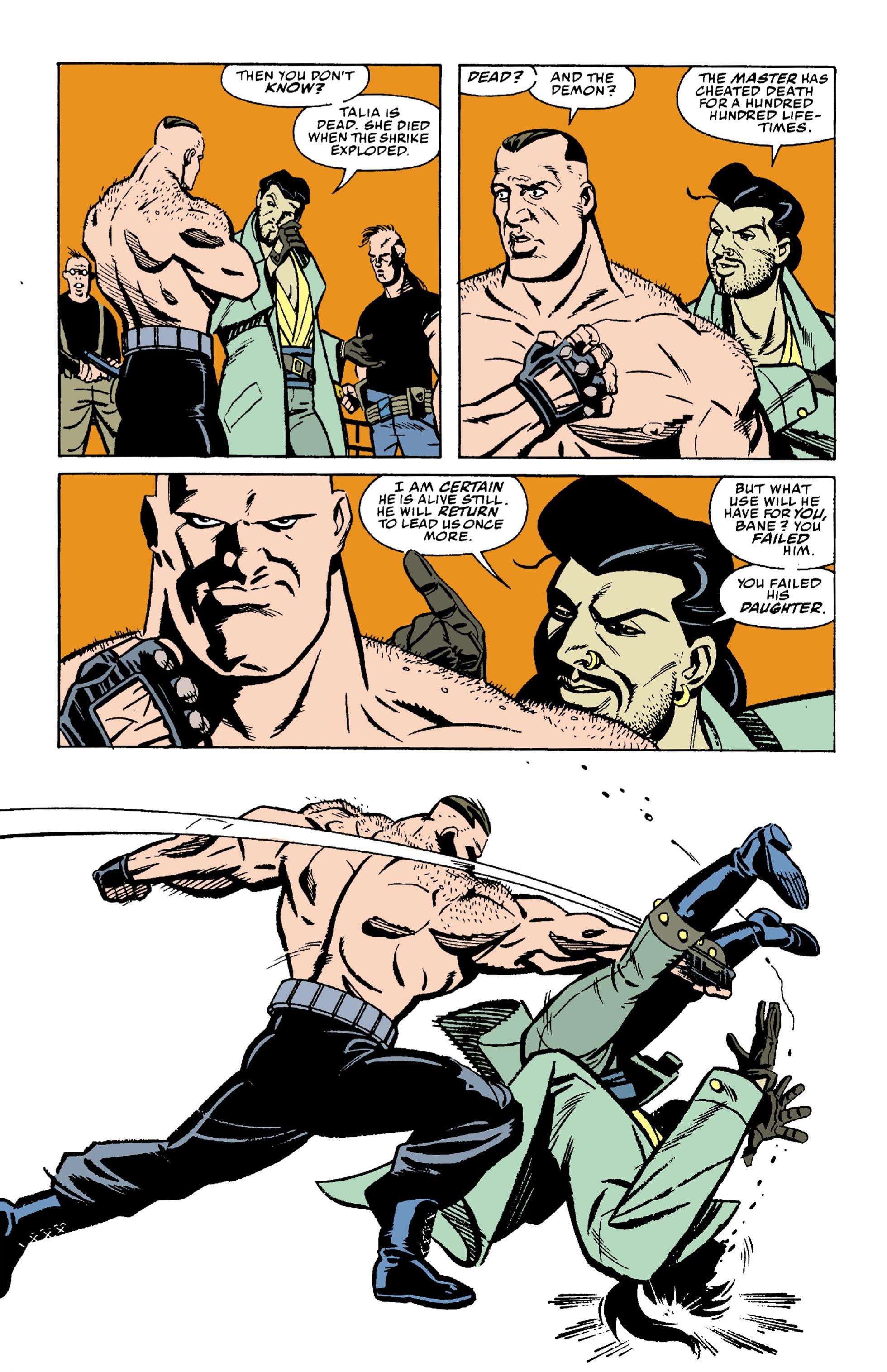 Read online Batman: Bane comic -  Issue # Full - 13