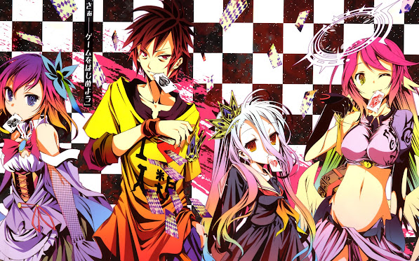 No Game No Life Characters 7d