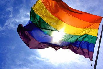 Pride luleå, regnbågsflaggan