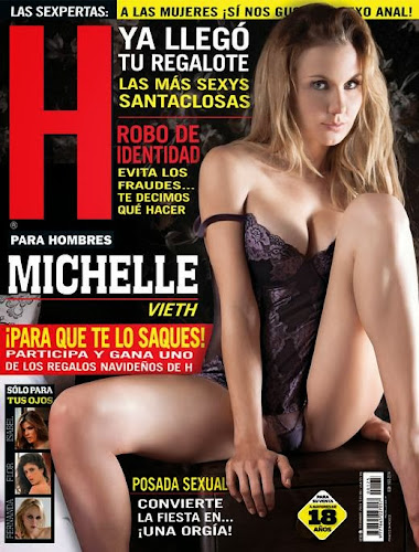 Fotos Michelle Vieth Revista H diciembre 2013