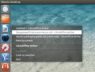 unity window quicklists