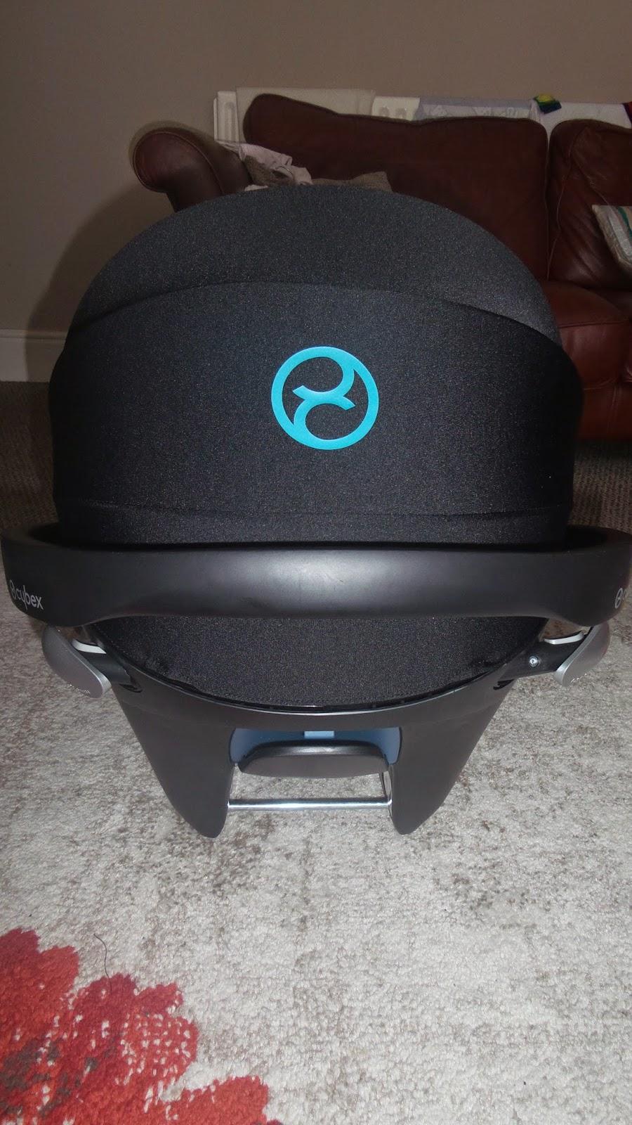 carsonsmummy blog review, CYBEX ATON Q, Sun visor, LSP System