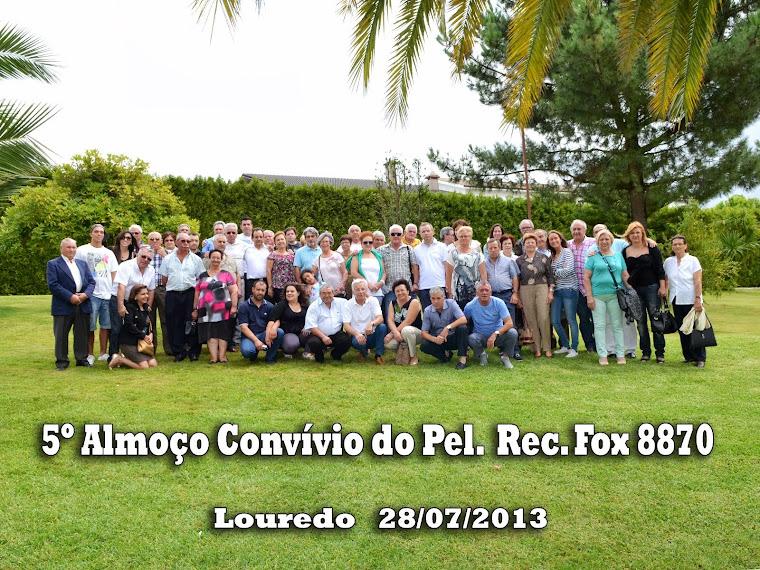 Ex-Pelotão Fox e família