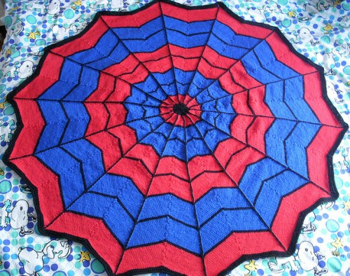 Spiderman Blanket - Free Pattern