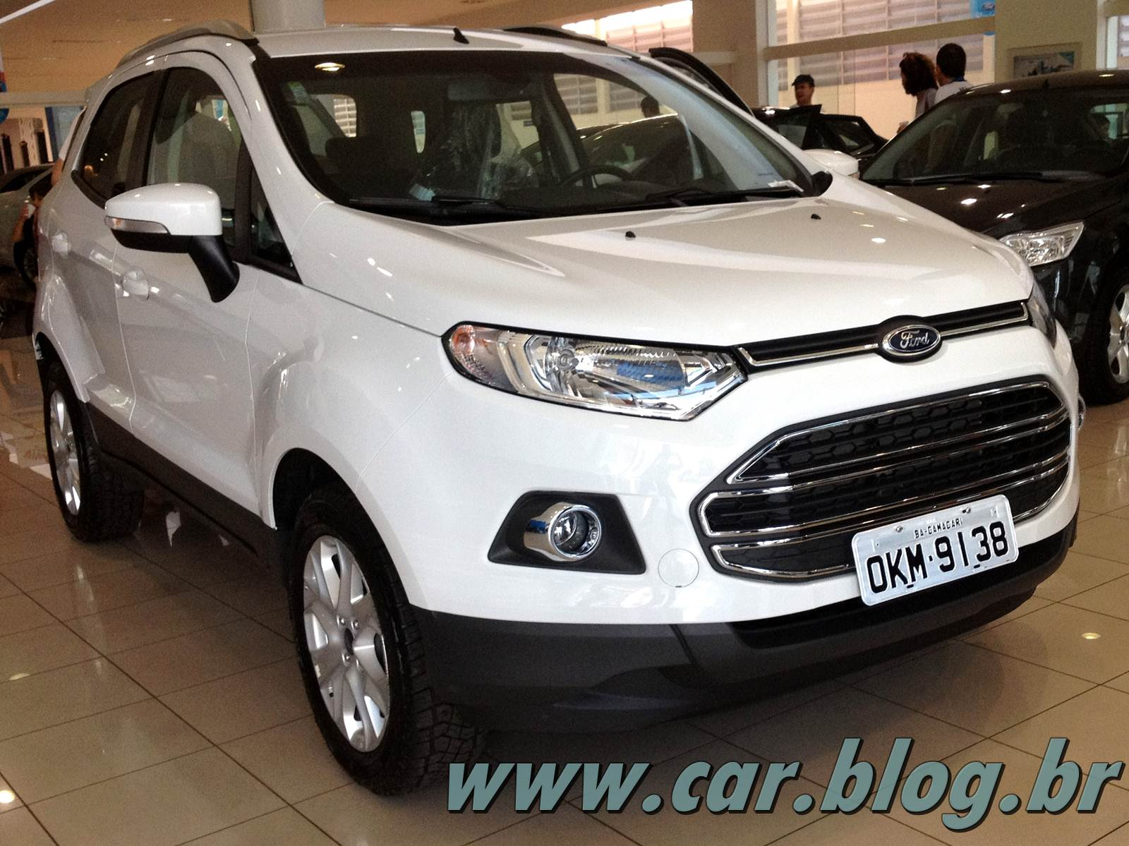 Novo EcoSport 2013 fotos preo consumo e especificaes  CAR