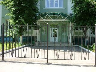 Забор металлический из профильной трубы. Фото 7