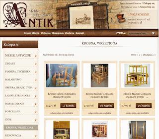 sklepy tkackie / akcesoria tkackie / antik