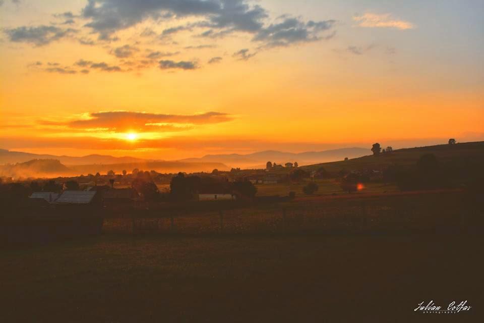 Răsărit de soare la Subcetate