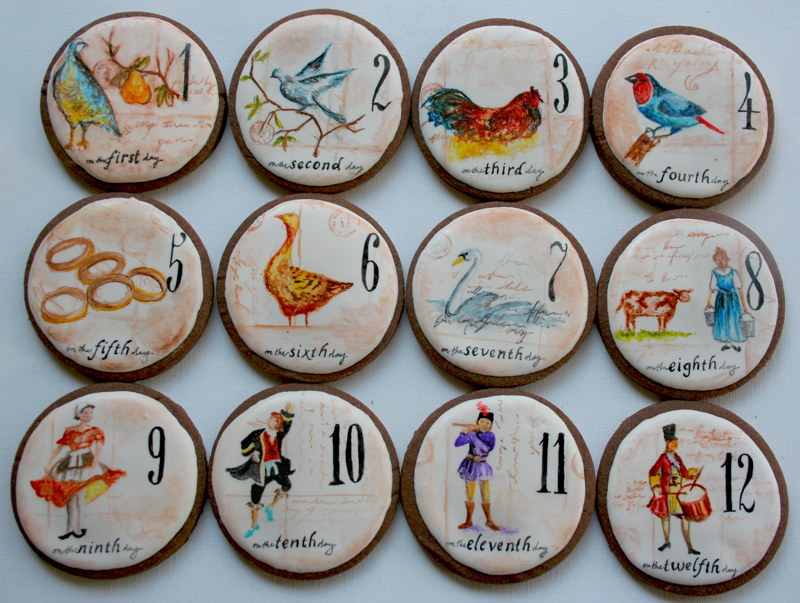 12 Days Of Christmas Arty Mcgoo Cookie Decorating Classes And