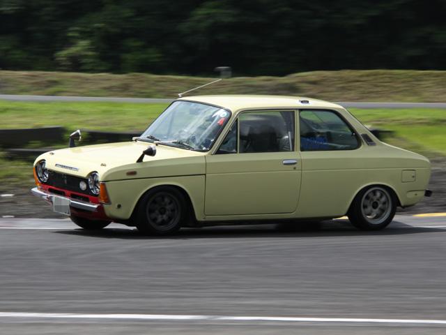 Subaru FF-1, sportowy, stary japoński samochód, nostalgic, retro, oldschool, スバル, クラシックカー