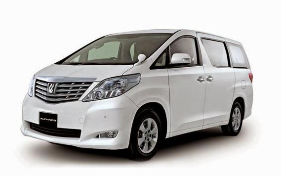 Rental Mobil Bandung Toyota Alphard