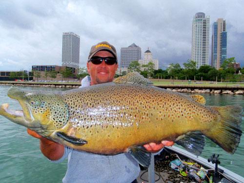 International fishing news usa huge brown trouts on lake for Big 5 fishing