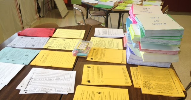 Live, Love, Teach: Piles of Papers!