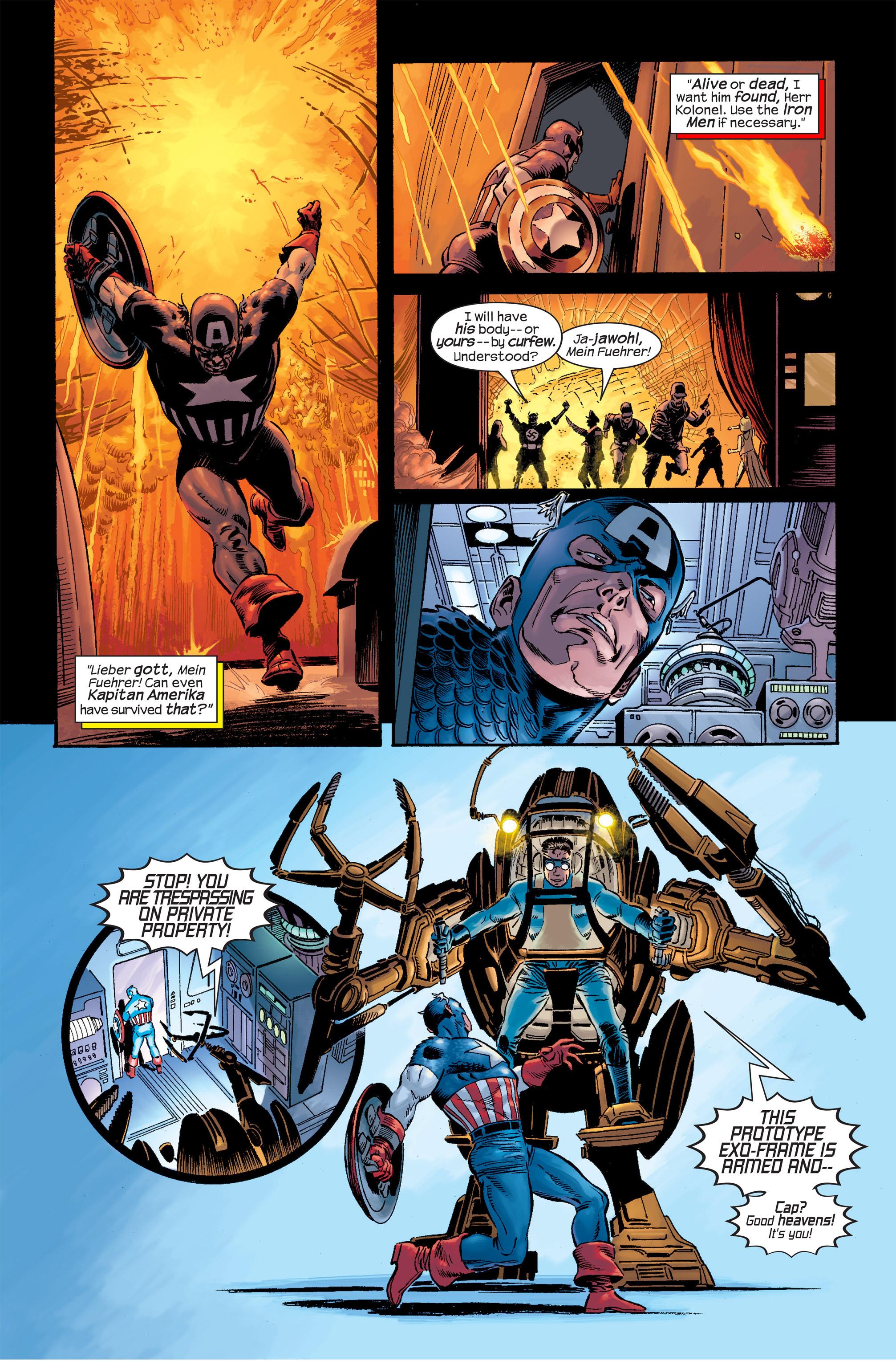 Captain America (2002) Issue #18 #19 - English 5