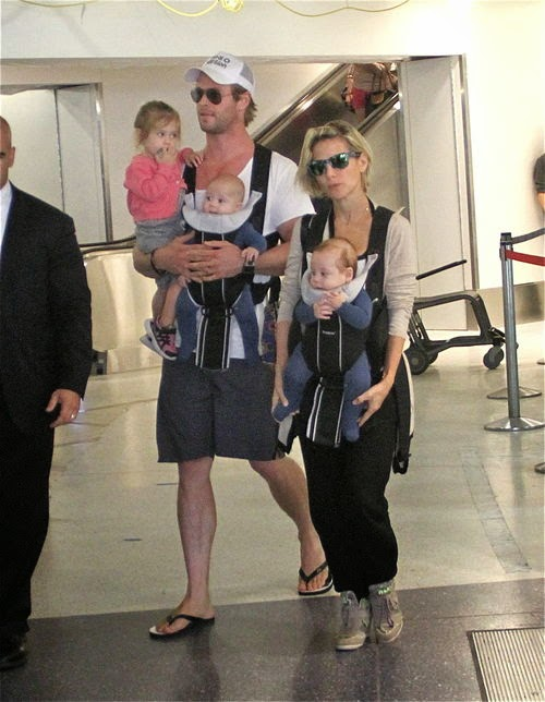 After the twins | New 'young' for Chris Hemsworth & Elsa Pataky