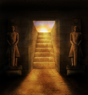 Create associate Egyptian Film Scene image Manipulation