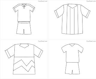 uniform coloring pages - four coloring