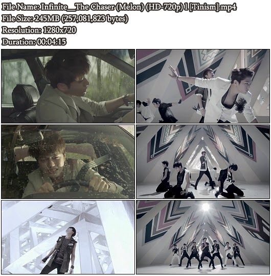Download MV Infinite (인피니트) - The Chaser (추격자) (Melon HD 720p)