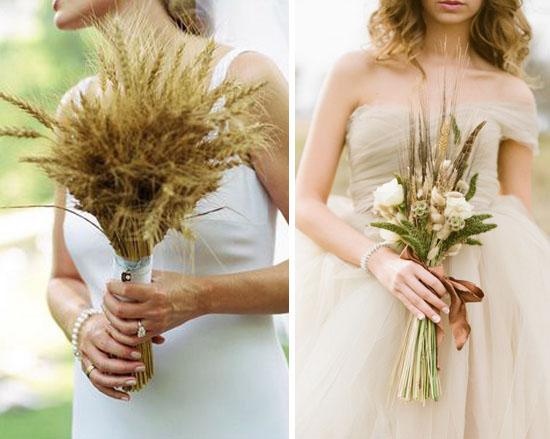 Matrimonio Tema Grano : Bouquet alternativi