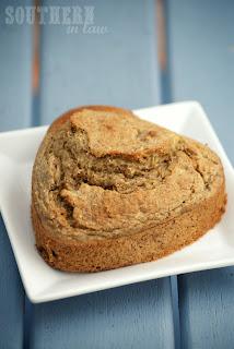 Gluten Free Banana Almond Breakfast Muffins