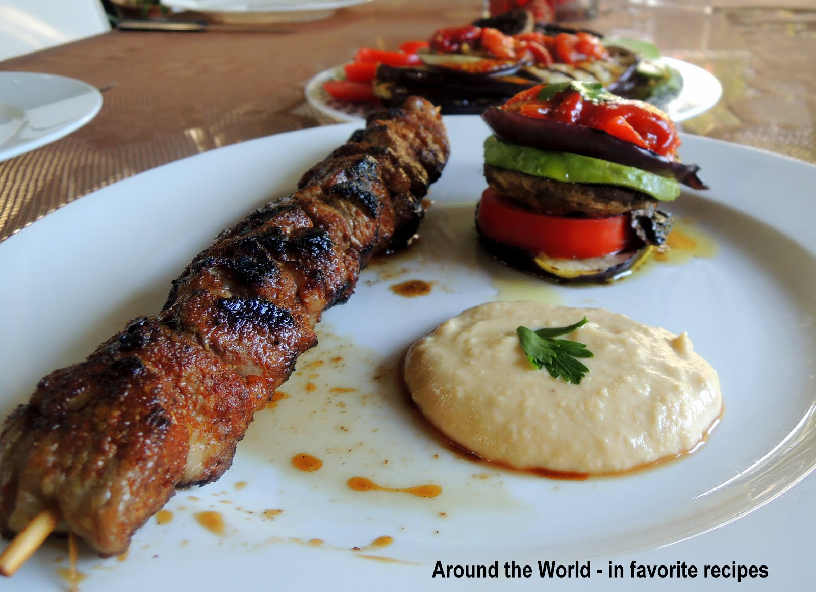 Around the World - in favorite recipes: Meats and Mains