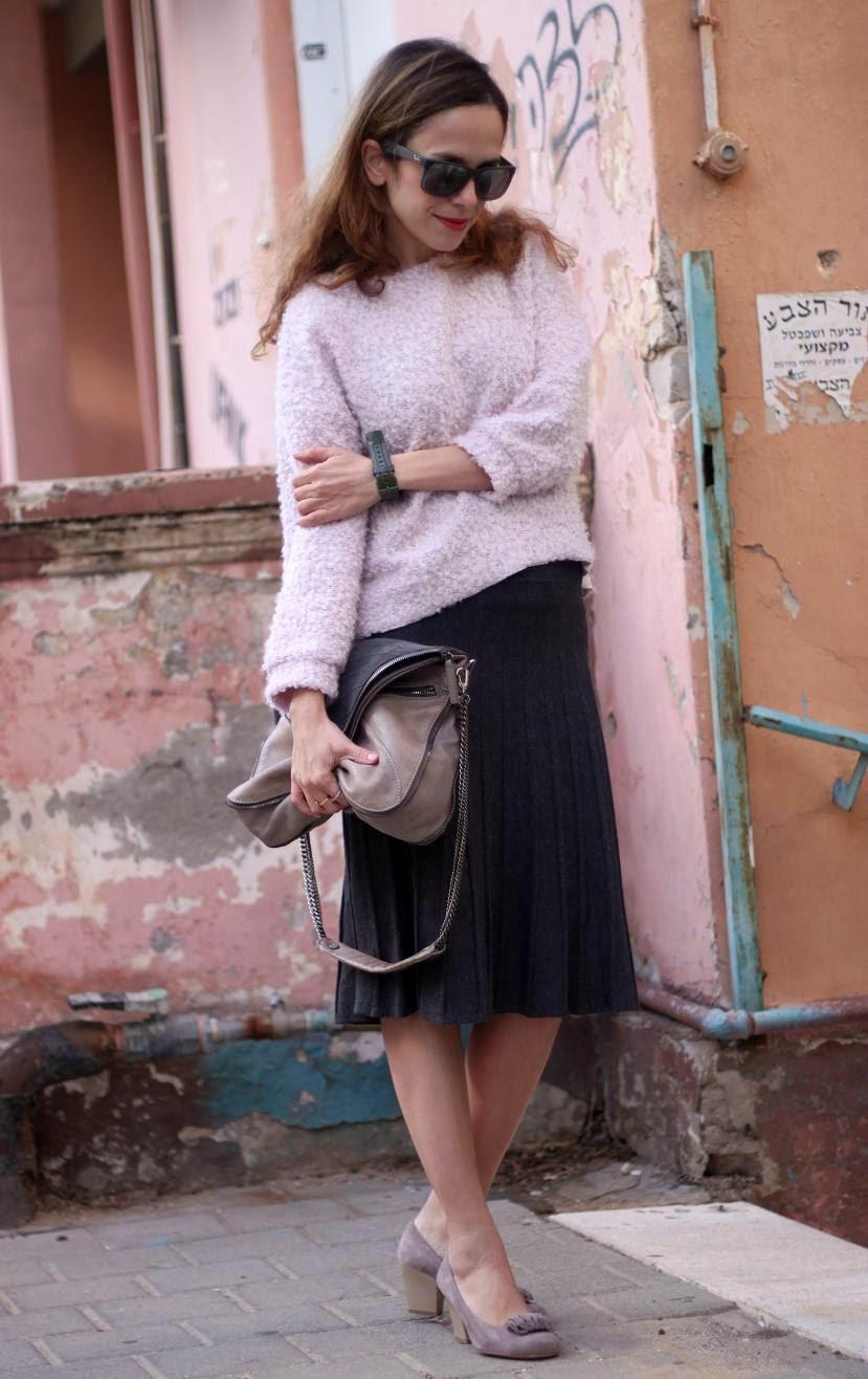 fashion blog ,streetstyle, 2013, fluffy, בלוג אופנה ,אופנה, bag, topshop