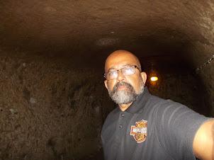 """Tunneling through  """" Derinkuyu Underground City"""""""