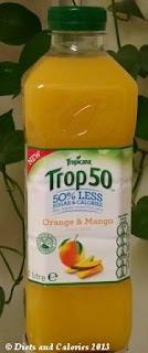 Tropicana Trop50 Fruit Juice Orange & Mango