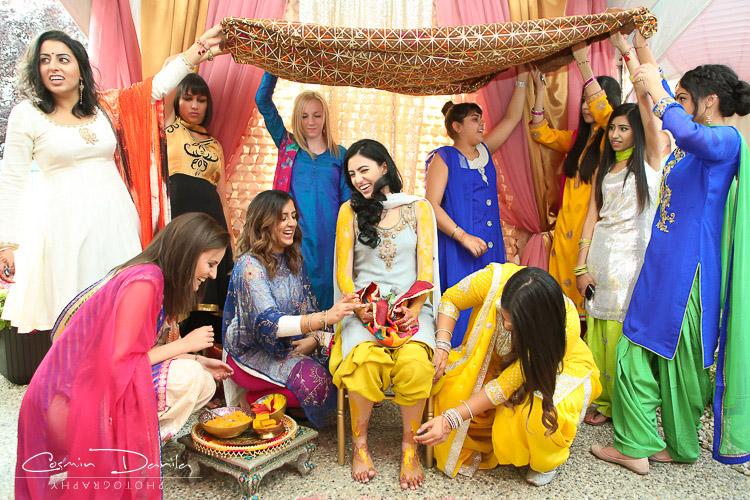 East Indian Wedding Rituals Photography Edmonton Canada Mehndi Pictures Jaago Maiya Choora Takha Ceremony Punjabi