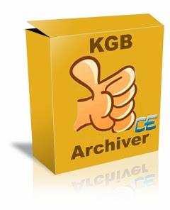ضغط الملفات بأقصى مستوى من 2 جيغا إلى 20 ميغا برنامج KGB Archiver v1.2.1.24