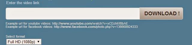Baixa vídeos do Facebook