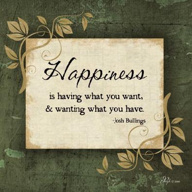 Quotes on happiness.....