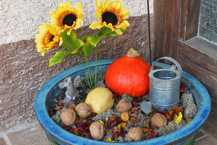 Be a Diva DIY Herbstdeko für die Haustüre