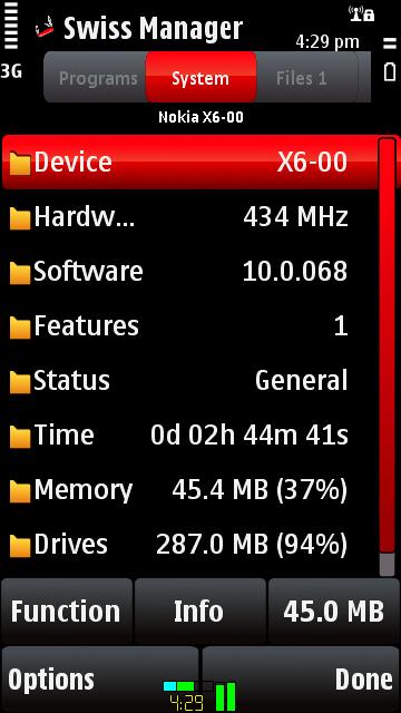 3in1 mobile software - Диспетчер задач, информация о телефоне, файловый мен
