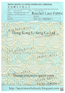 Raschel Lace Fabric Supplier - Hong Kong Li Seng Co Ltd