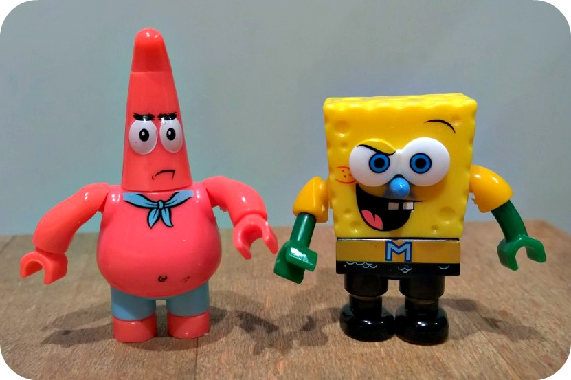 SpongeBob SquarePants Mega Bloks Invisible Boatmobile Rescue