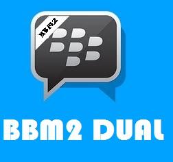 BBM2 Dual Pin Tampilan Standart