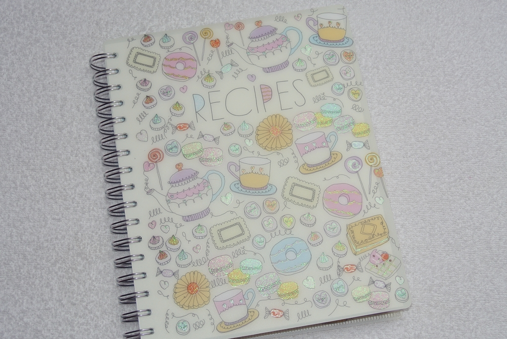 paperchase recipe book